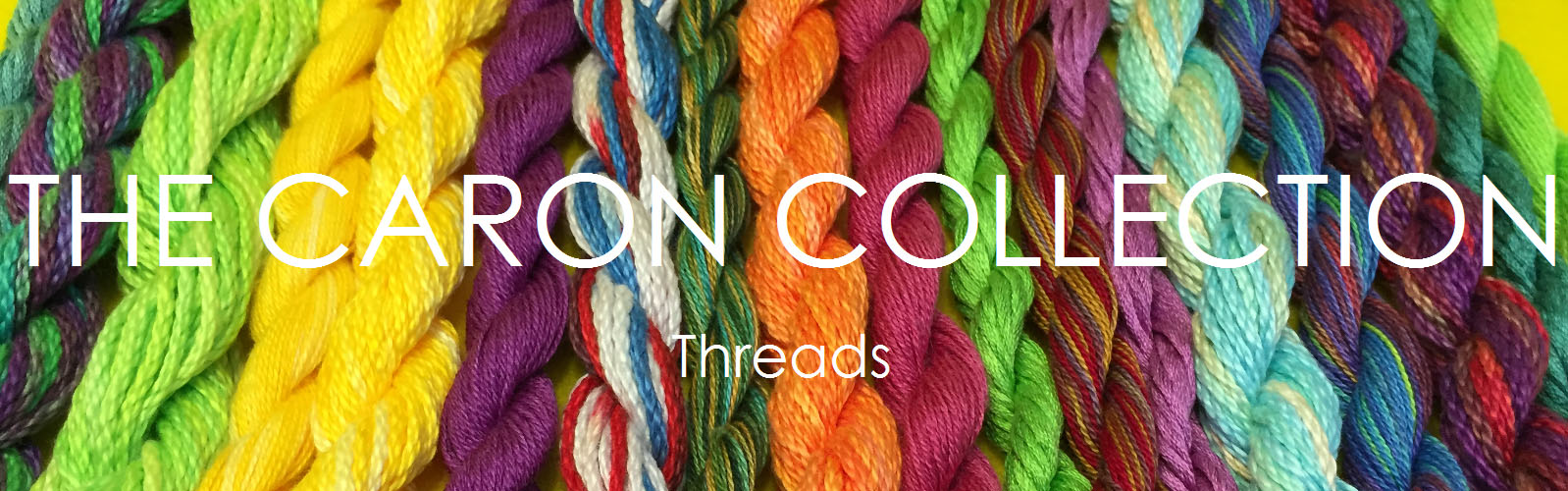 This wonderful selection of hand dyed threads in Cotton, Silk and Silk/Wool mix will give new meaning to your embroidery